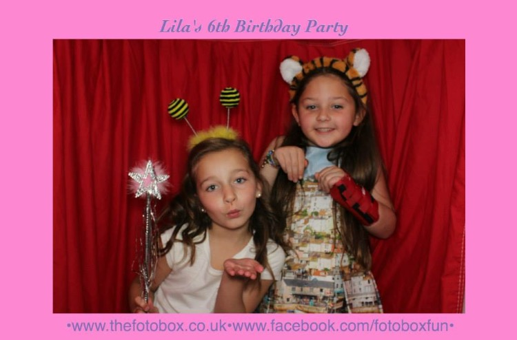 Children's Photo Booth Hire - Glasgow, Edinburgh, Ayrshire, Loch Lomond